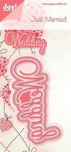 6002/0395 Noor! Design Just Married Wedding 1 st