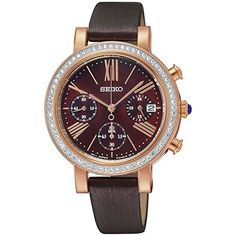 Seiko Quartz für Frauen-Armbanduhr Chronograph Quartz SRW018P1 | Your #1 Source for Watches and Accessories