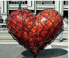 ...orangerotes Herz