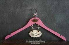 Hey, I found this really awesome Etsy listing at http://www.etsy.com/listing/159231693/bridal-hanger-personalized-wedding-dress. @Gretchen Howell ummm yes please
