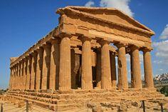 Greek Temple by Chuck Wedemeier Temple, Greek, Wall Art, Building, Travel, Viajes, Greek Language, Buildings, Traveling