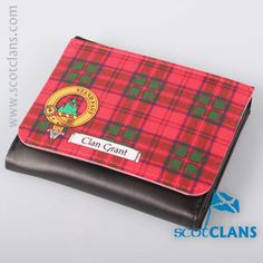 Clan Crest Wallet. Free worldwide shipping available