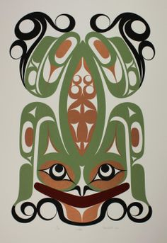 Wak'es - Limited Edition Serigraph Francis Dick