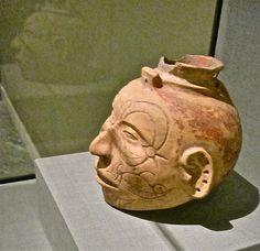 Head+Effigy+Vessel  Detroit, Michigan, Dia, Art, Museum ~ Photo credit: ellenm1 / Foter / CC BY