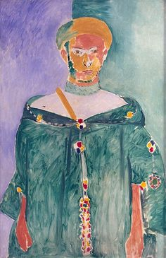 Moroccan in Green by Matisse