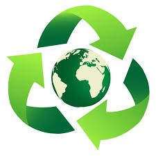 The Green Movement / Motion of Re-cycling is Ray Three . Ecology .