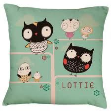 cushions with owls on uk - Google Search