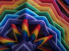 Rainbow, Facebook, Art, Gods Eye, Mandalas, Rain Bow, Art Background, Rainbows, Kunst