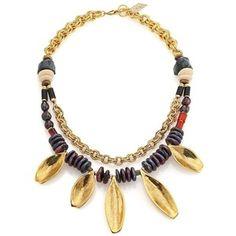 Lizzie Fortunato Morrocan Sun Semi-Precious Multi-Stone Beaded Two-Strand Necklace