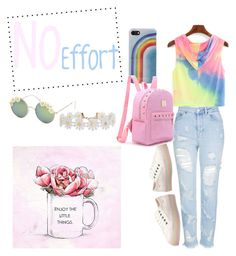 """""""The Little Things in Pink"""" by dyates-cierrah on Polyvore featuring Topshop, Rocket Dog, Marc Jacobs, Full Tilt, Humble Chic and Oliver Gal Artist Co."""