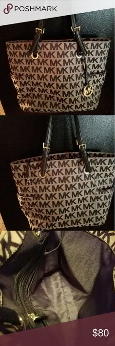 Authentic MK Purse Like New condition., this has been in my closet collecting dust. I used it once. Inside of purse pictured is shadow there is no sign of wear. Michael Kors Bags Satchels