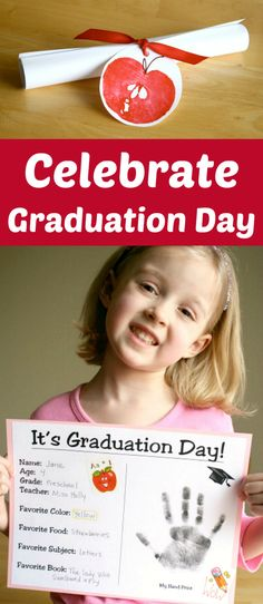 2 Ways to Celebrate Graduation Day with your little one! If it's preschool or pre-K or even Kindergarten these are great ideas on how to celebrate your graduate! Kindergarten Graduation Gift, Graduation Crafts, Pre K Graduation, Graduation Balloons, Graduation Pictures, Graduation Ideas For Preschool, Preschool Learning, Preschool Activities, Preschool Kindergarten