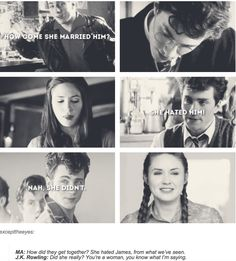 Because Lily and James never really hated each other