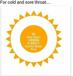 for Cold & Sore throat