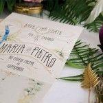 Papelería de boda: Porque el diseño de tu boda puede tener un mismo estilo.