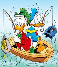 Donald & Gladstone. Eternal Rivals!