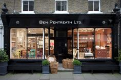 Ben Pentreath Ltd - 17 Rugby Street, London.  Interesting, well-designed and beautiful things for your home.