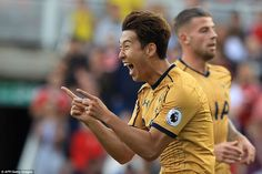 Middlesbrough Tottenham Son Heung-min netted twice to help Tottenham to a win over Middlesbrough in Saturday's Premier League encounter at the Riverside Stadium. Tottenham Hotspur Football, Mauricio Pochettino, Middlesbrough, Great Team, Korean Celebrities, Boro, S Man, Premier League, Nice Tops