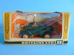 Vintage Toys Wanted by the-toy-exchange - Always looking for Britains Toys stock. Boxed 1:32 scale Cat. No.9781 Military Vehicles BRITISH SCOUT CAR model.