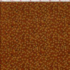 Tecido importado para Patchwork - 100% algodão - SASHA METALLIC - SHS0009-RUST :: Eva e Eva Tecidos Para Patchwork