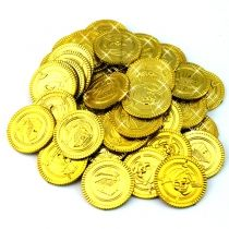 Cheap plastic coins pirate, Buy Quality toys for directly from China toys toys Suppliers: Cool fancy plastic captain pirate treasure gold coins props toys for Halloween party cosplay kids fun for hours Pirate Party Favors, Halloween Party Favors, Party Favor Bags, Loot Bags, Cheap Wedding Supplies, Kids Party Supplies, Pirate Halloween, Fete Halloween, Halloween Birthday