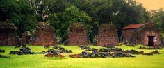 ruinas jesuíticas Santa María La Mayor, en Misiones