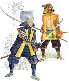 """""""Kuroda Nagasama, c.1592"""", Angus McBride"""
