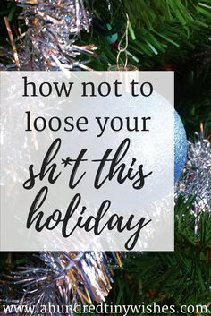 five tips for a calmer holiday