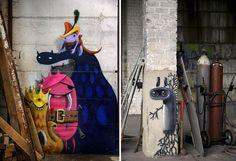 "Berlin artist Kim Kwacz a.k.a Kim Köster presents his new work ""Monzter"".Bored Panda"