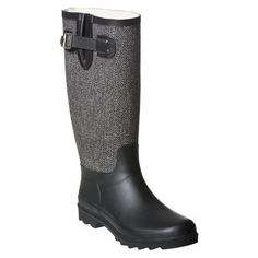 I just bought these boots from Target. Now I need to figure out what to wear with them. I love that they are rain boots and winter boots $34.99