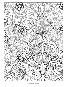 William morris embroidery google search pinterest william morris coloring book fandeluxe Images