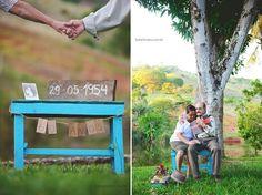Bodas de diamante: Dona Ana e o Seu Antônio   http://www.blogdocasamento.com.br/ensaio-bodas-de-diamante/