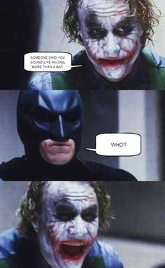 Batman & joker funnies
