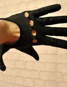 138 Skórzane rękawiczki   Cena: 10,00 zł  #fajnerekawiczki #uzywanerekawiczki
