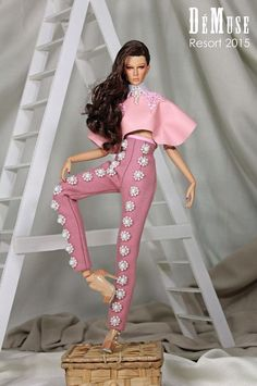 Fashion doll by Nigel Chia
