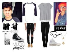 """""""nia and calum"""" by stephaniejoseph061 ❤ liked on Polyvore featuring art and Summerplaylist"""