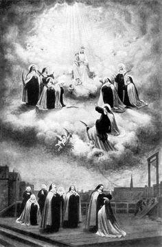 Carmelitas de Compiègne, mártires da Revolução Francesa.