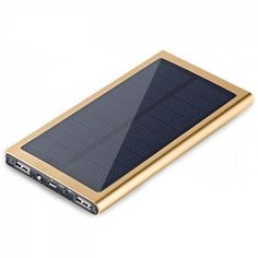 Buy Solar Power Bank with LCD Light for Mobile Phone, sale ends soon. Be inspired: enjoy affordable quality shopping at Gearbest! Solar Phone Chargers, Solar Charger, Gear Best, Buy Phones, Summer School Outfits, Usb, Educational Technology, Portable
