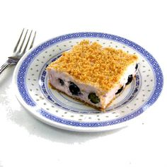 One Perfect Bite: Blueberry Cream Squares