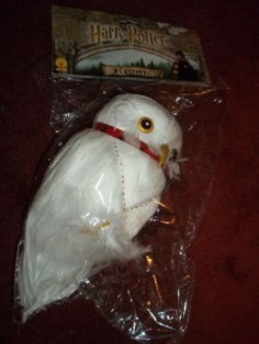 Harry-Potter-Hedwig-the-Owl-Rubies-Costume-Piece-New-In-Package