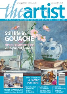 How to Paint a Still Life with Anemones and Teapot in Gouache with Kevin Scully The Artist Magazine, Miniature Crafts, Scully, Light Painting, Art Tutorials, Gouache, Family Portraits, Still Life, Illustrators
