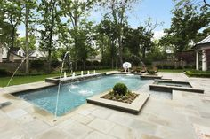 Pool Color Is French Gray Pepple Sheen Client