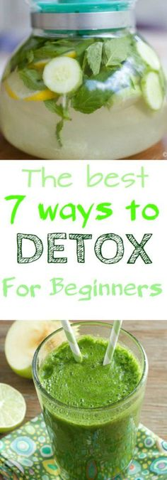 The Best 7 Ways to Detox For Beginners