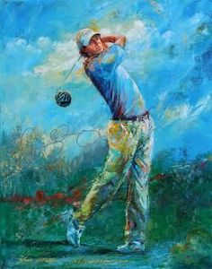 McTier Art: Golf Art
