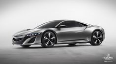 Acura's NSX Concept. Hybrid power, all-wheel-drive, and ultra-high performance.