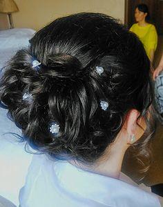 Bridal upstyle Bridal, Bride, Brides, Wedding Dress, The Bride