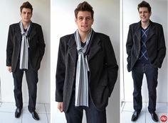 Para aqueles que gostam de um visual mais sofisticado, o blazer é ideal para compor um look clássico neste inverno.
