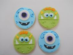 Monster Mash Cookies by TheHappyCaker on Etsy, $22.00