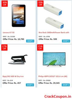 Check for today's best #deal on #SnapDeal, Grab it before it's too late! Click