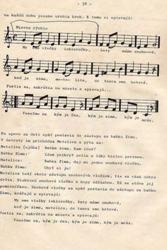 Sheet Music, Education, Winter, Children, Crafts, Winter Time, Boys, Kids, Music Score